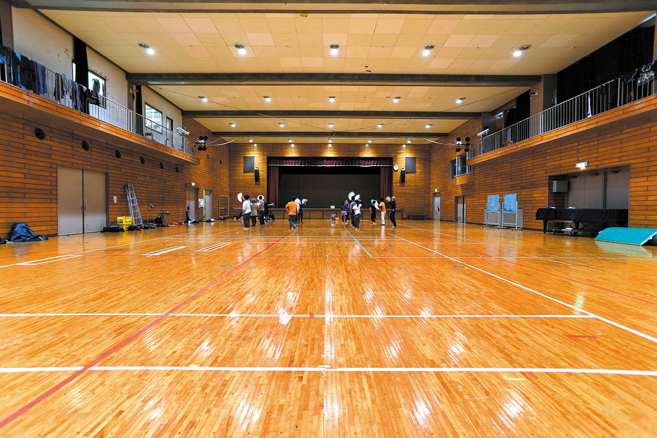 体育館〈1階〉
